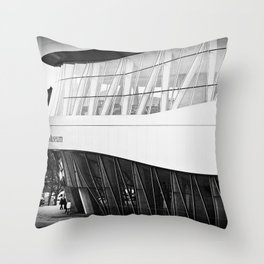 MERCEDES-BENZ MUSEUM Throw Pillow