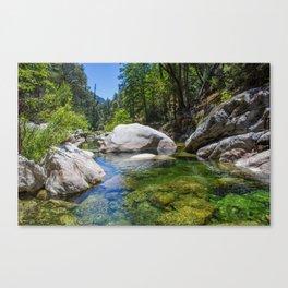 Emerald Pools Canvas Print