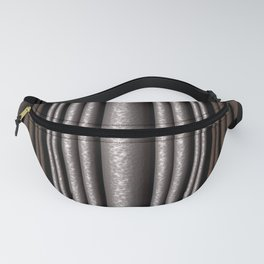 Hammered Metal/Rust Fanny Pack