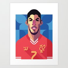 LS7 | Reds Art Print