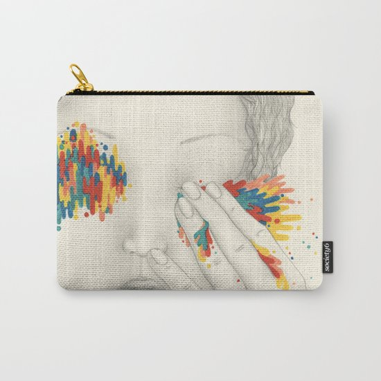 Give Me Your Eyes Carry-All Pouch