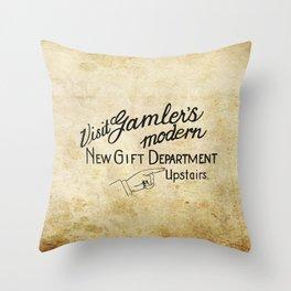 Visit Gamler's Throw Pillow