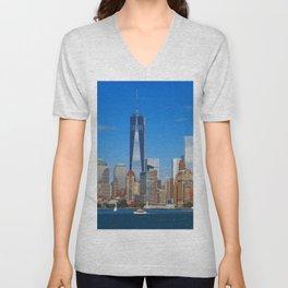 One World Trade Center Unisex V-Neck