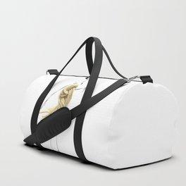 Edible Ensembles: Brown Pasta Duffle Bag