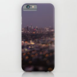 Angel City Lights (L.A. at Night) iPhone Case