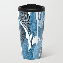Lush Lily - chambray Travel Mug