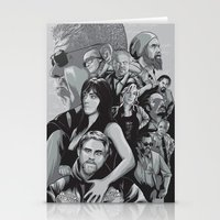 sons of anarchy Stationery Cards featuring Sons of Anarchy by Denis O'Sullivan