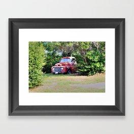 1950 Ford F100 Framed Art Print