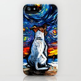Jack Russell Terrier Night 2 iPhone Case