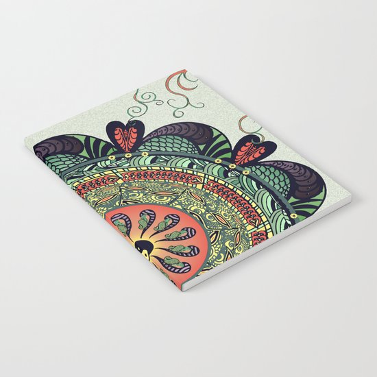 812 Multicolor Mandala Notebook