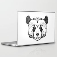 andreas preis Laptop & iPad Skins featuring Panda by Andreas Preis