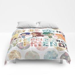 Sailor Scout Friends Comforters