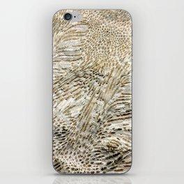 Digital Coral Design iPhone Skin