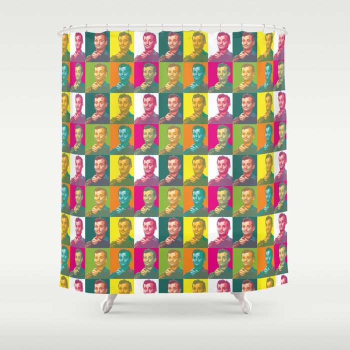 Don T Worry Bill Murray Shower Curtain By Lizscoles Society6