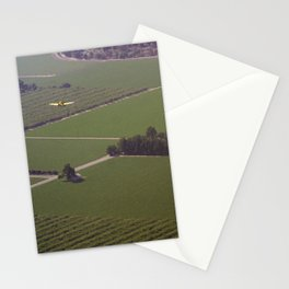 Crop Duster Stationery Cards