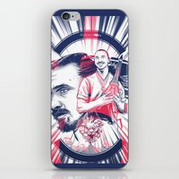zlatan iPhone & iPod Skins featuring Ibracadabra by Akyanyme