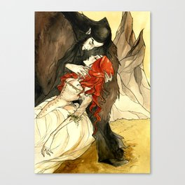 Hades and Persephone III Canvas Print