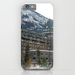 Rocky Mountain Living - Banff Resort iPhone Case