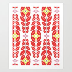 Cortlan | Cherry Red Art Print