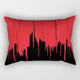 Paint it Red Rectangular Pillow