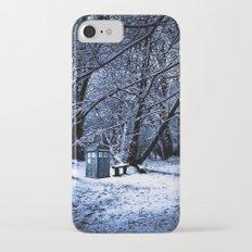 Tardis Forest iPhone 7 Slim Case