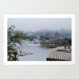 Corea, Maine Art Print
