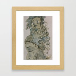 Thoughtless Dreams  Framed Art Print
