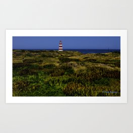 Western Light Landscape Art Print