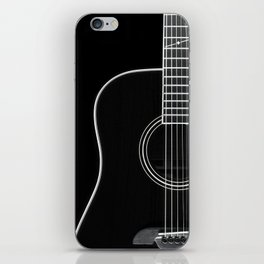 Guitar BW iPhone Skin