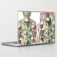 bones Laptop & iPad Skins featuring BONES by MANDIATO ART & T-SHIRTS