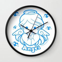Kawaii Kiddies Cute Angel Wall Clock