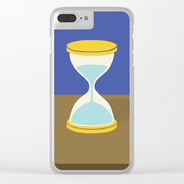 Time is Almost Up! Clear iPhone Case