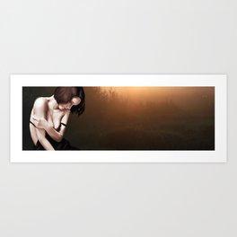 A Quiet moment Alone? Art Print