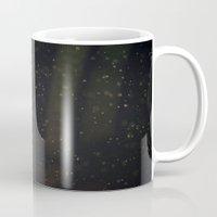 battlestar galactica Mugs featuring Jellystar Galactica by Young Swan Designs