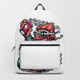 Scooter Driver - GREEN Backpack