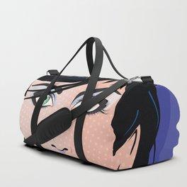 Beautiful Pop Art Woman Bettina Duffle Bag