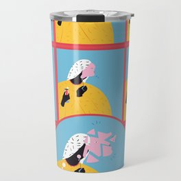 break and compose Travel Mug