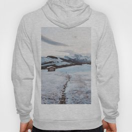 Alpine morning - Landscape and Nature Photography Hoody
