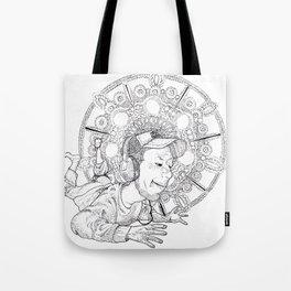 mandala004 Tote Bag