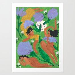 Midnight Summer Dreams Art Print