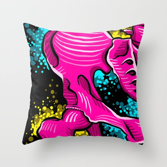 M.Hip Throw Pillow