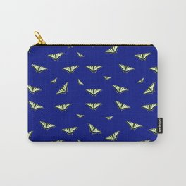 Butterfly Tile Carry-All Pouch