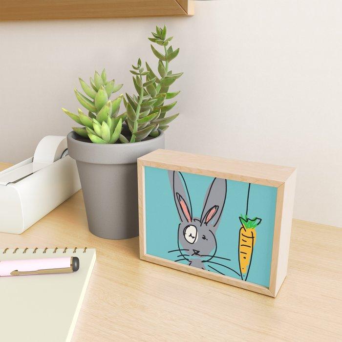 Carrot? Framed Mini Art Print