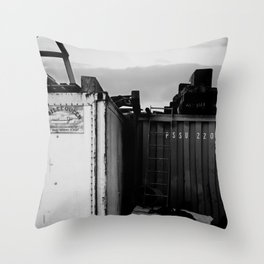 Padstow Containers Throw Pillow