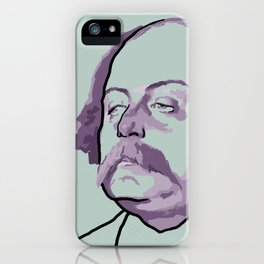 Gustave Flaubert iPhone Case