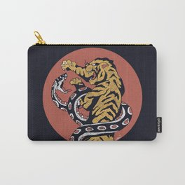 Classic Tattoo Snake vs Tiger Carry-All Pouch