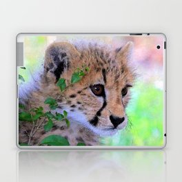 Aqua_Cheetah_20180102_by_JAMColorsSpecial Laptop & iPad Skin