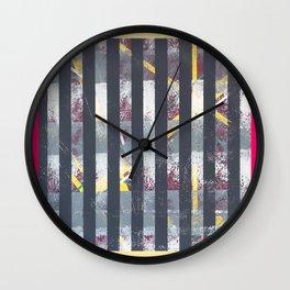 Polarised - frame graphic Wall Clock