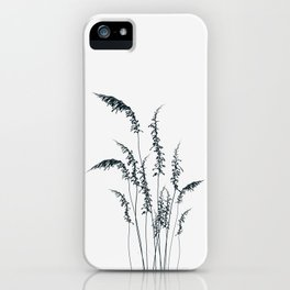 Wild grasses iPhone Case