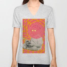 The Hand That Takes Unisex V-Neck